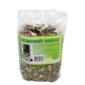 Сено  лиственный сбор, зеленый запас 100 г Сено  лиственный сбор, зеленый запас 100гр