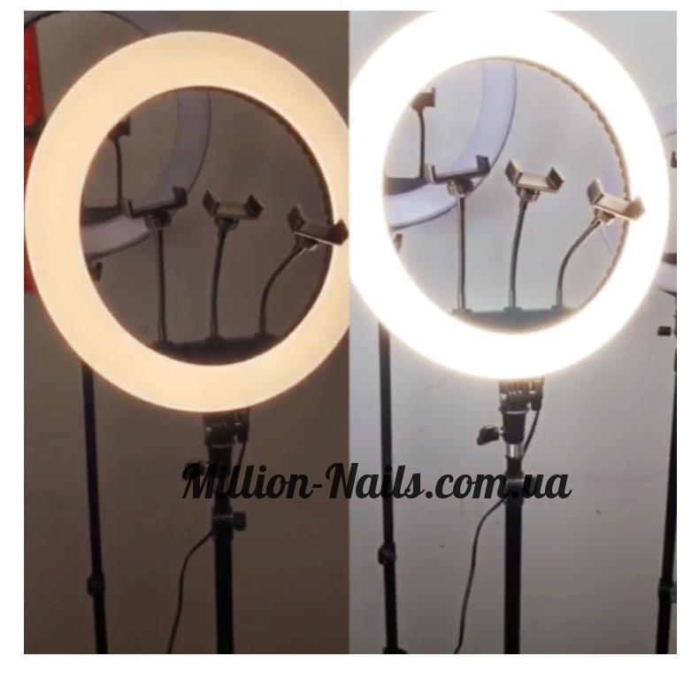 Лампа світлодіодна кільцева для селфи