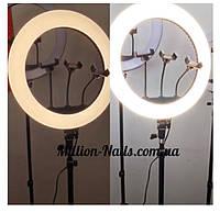 Лампа світлодіодна кільцева для селфи, фото 1
