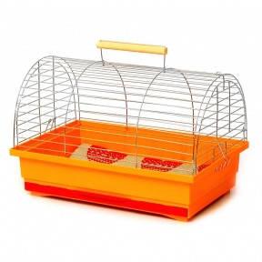 Клетка-переноска для грызунов Вояж, цинк. Лори