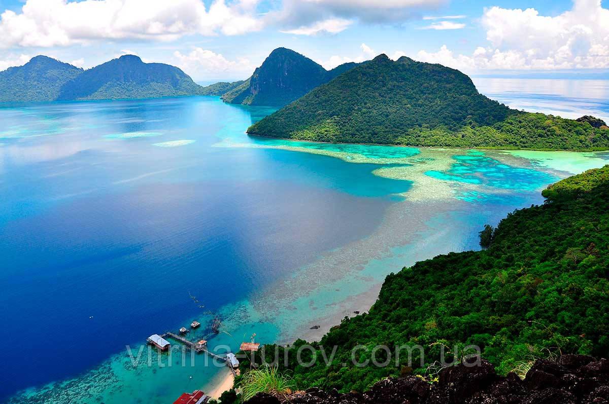 Отдых в Малайзии из Днепра / туры в Малайзию из Днепра (острова Лангкави, Борнео)