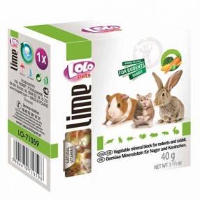 Минерал для грызунов с овощами 30 г, Lolo Pets Минерал для грызунов с овощами Lolo Pets