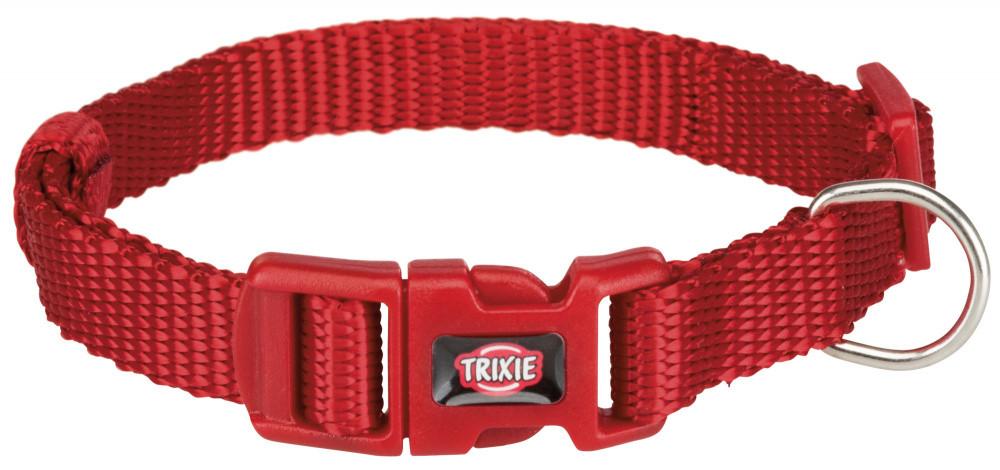 Нашийник нейлон XS-S 22-35 см 10 мм Premium Червоний Trixie для собак