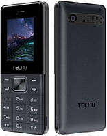 Кнопочный телефон Tecno T301 Black