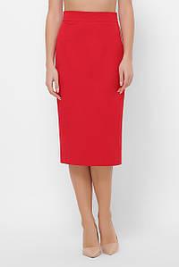 Женская узкая юбка-миди (1071 fup)