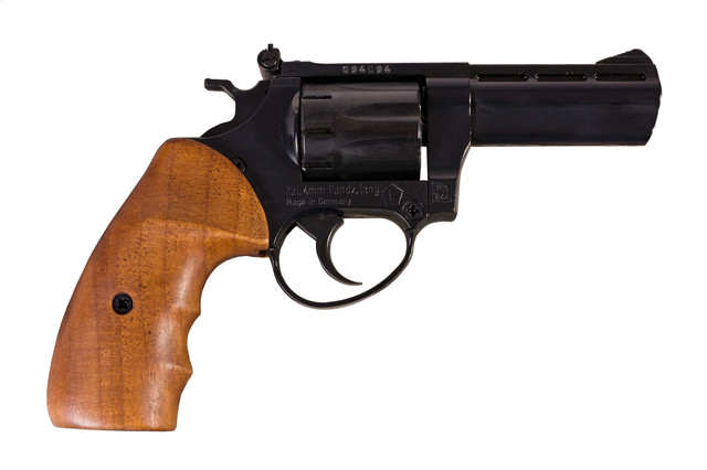 ME 38 Magnum 4R з дерев'яною рукояттю