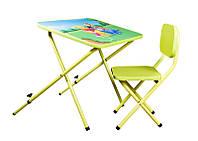 Стол-парта со стульчиком Ommi Винни лайм