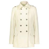 Жіноче пальто бушлат Alpha Industries Ladies Wool Long Pea Coat WJW37100C1 (айворі)