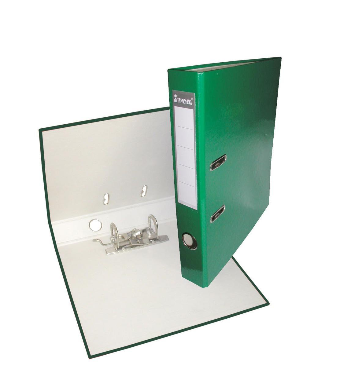 Папка-регистратор, А4, 50 мм, РР-покрытие, кармашек для этикетки