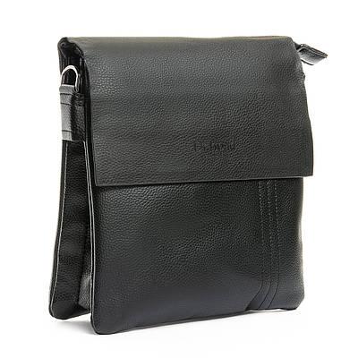 Мужская кожаная сумка планшет через плечо DR. BOND 303-4 black