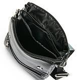 Шкіряна чоловіча сумка через плече / Мужская кожаная сумка через плечо DR. BOND 315-3 black, фото 3