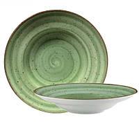 Тарелка для пасты (шляпа) Corendon Atlantis Green 27 см