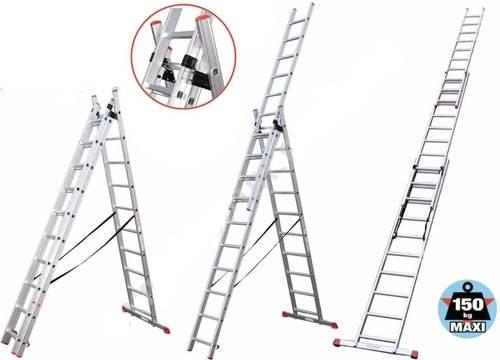 Лестница универсальная ПРАКТИКА/КРОК 3х8 5,10 метров, фото 2