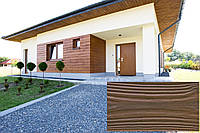 Декоративна Акрилова Панель Рельєф Дошка колір (Африканська груша 14), (Польща)