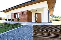 Декоративна Акрилова Панель Рельєф Дошка колір (Бета Дерево 22), (Польща)