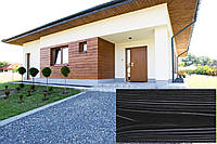 Декоративна Акрилова Панель Рельєф Дошка колір (Венге Конго 24), (Польща)