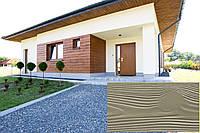 Декоративна Акрилова Панель Рельєф Дошка колір (Відбілені Оливки 19), (Польща)