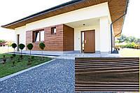 Декоративна Облицювальна Дошка, Рельєф Дошка колір (Горіх Порто 17), (Польща)