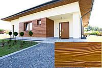 Декоративна Облицювальна Панель, Рельєф Дошка колір (Золотий Дуб 25), (Польща)