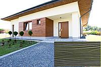 Облицювальна Акрилова Панель, Рельєф Дошка, колір (Іспанська Оливка 21), (Польща)