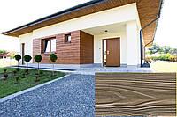 Панель Декоративна Акрилова, Рельєф Дошка, колір (Сірий Волоський Горіх 06), (Польща)