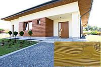 Декоративна Облицювальна Дошка, Рельєф Дошка, колір (Угорський Дуб 07), (Польща)