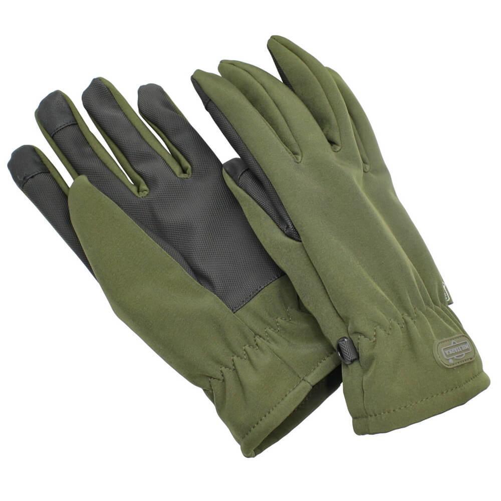 Мілітарка™ рукавички зимові Thinsulate Softshell TouchScreen олива