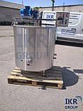 Сыроварня 300 литров / Варочный котел-сыроварня / пастеризатор з нержавейки для производства сыра новая, фото 2
