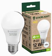 Лампа светодиодная 12W ENERLIGHT A60 230V 4100K 1080Lm E27