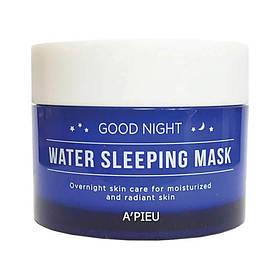 Нічна зволожуюча маска для обличчя A'pieu Good Night Water Sleeping Mask 110 мл (8809530037928)