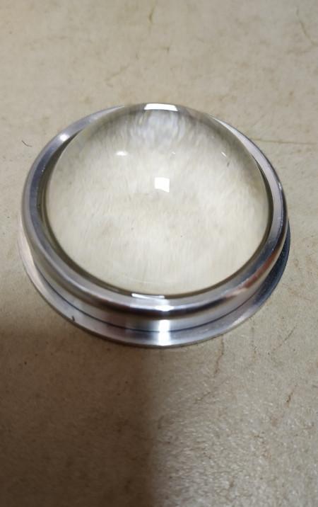 Лінза для світлодіодної матриці 20-100W SL-44 44мм 60-80* з кріпленням Код.59299