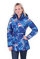 Женское зимнее пальто Azimuth 1178 Синяя
