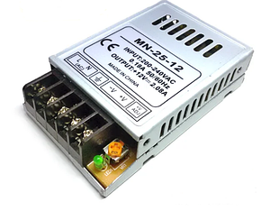 Блок питания PREMIUM PS-25-12 25 Вт 2А IP20 Код.57837