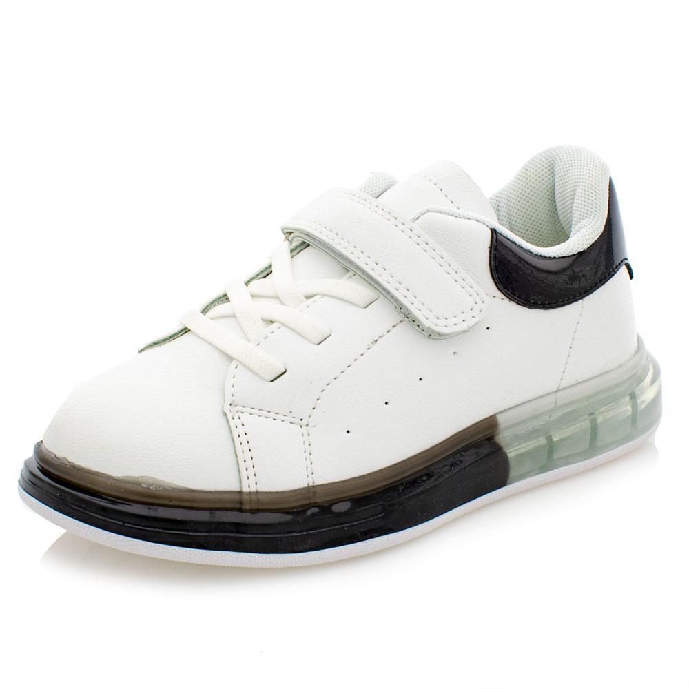 Кросівки для дівчат Jong Golf 32 біло-чорні 981029