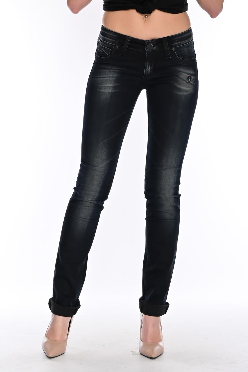 Женские джинсы OMAT jeans 9976 серые
