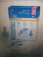 Комплект от комаров MOSQITALL нежная защита для детей (фумигатор+жидкость 30 ночей).