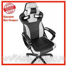 Кресло для работы дома Barsky SD-17 Sportdrive Game White/Black, черный / белый, фото 2