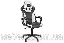 Кресло для работы дома Barsky SD-17 Sportdrive Game White/Black, черный / белый, фото 3