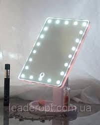 ОПТ Сенсорне настільне дзеркало для макіяжу UTM Magic Makeup з LED підсвічуванням