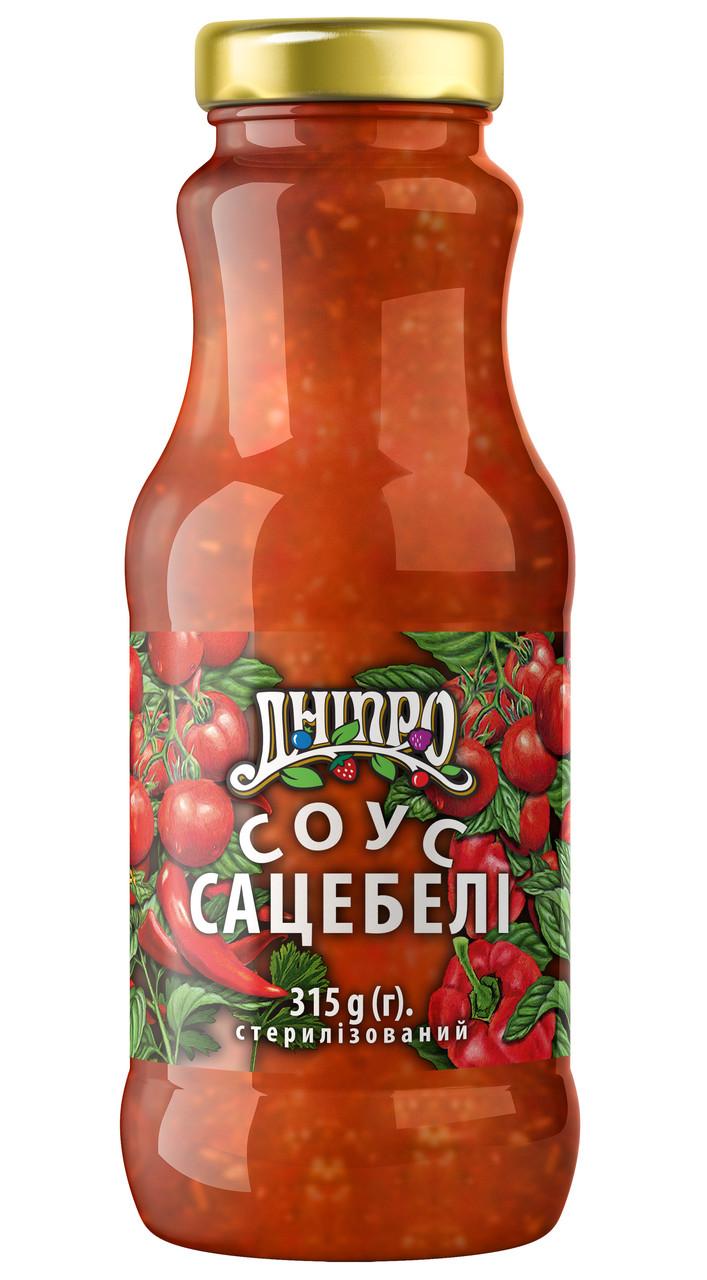 Соус Дніпро Сацебели 315г