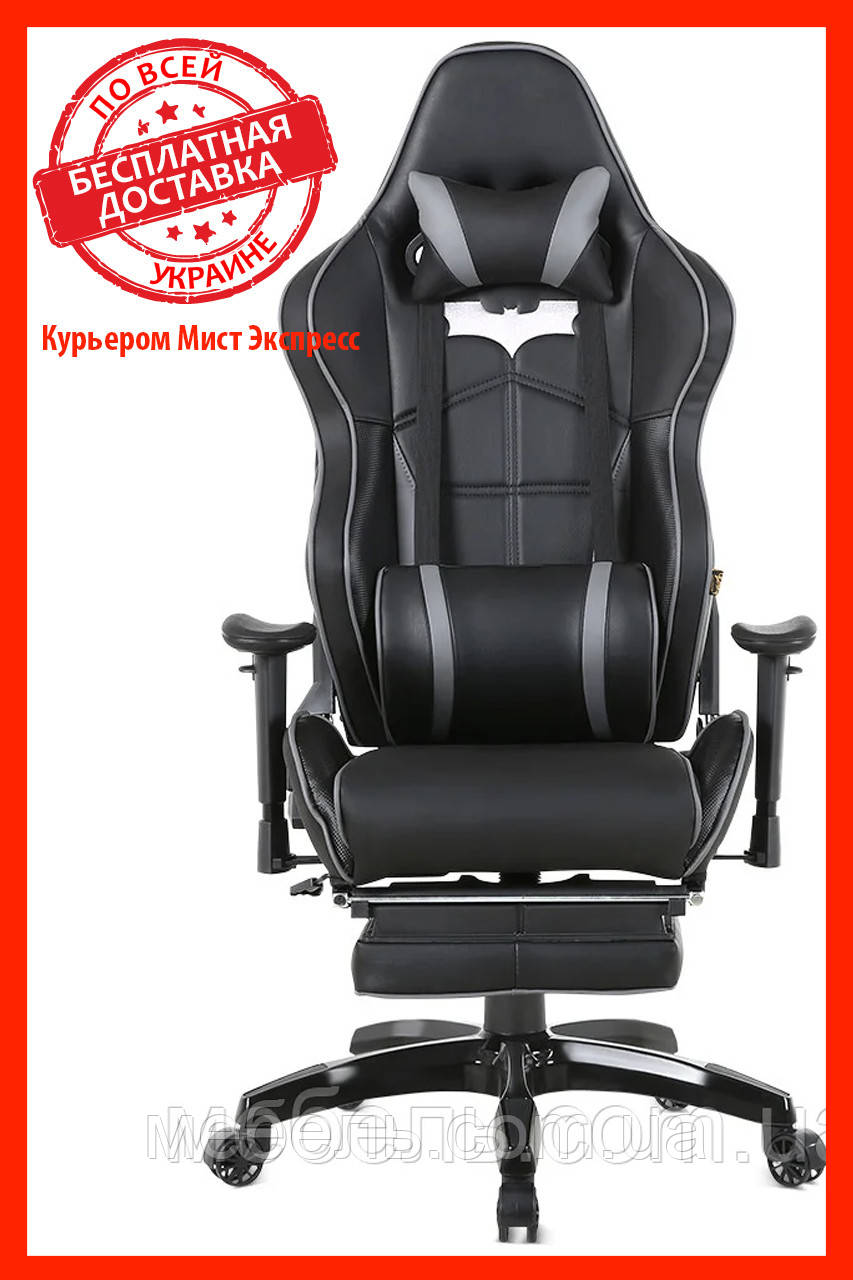 Кресло для врача Barsky SD-27 Batman Black, черный