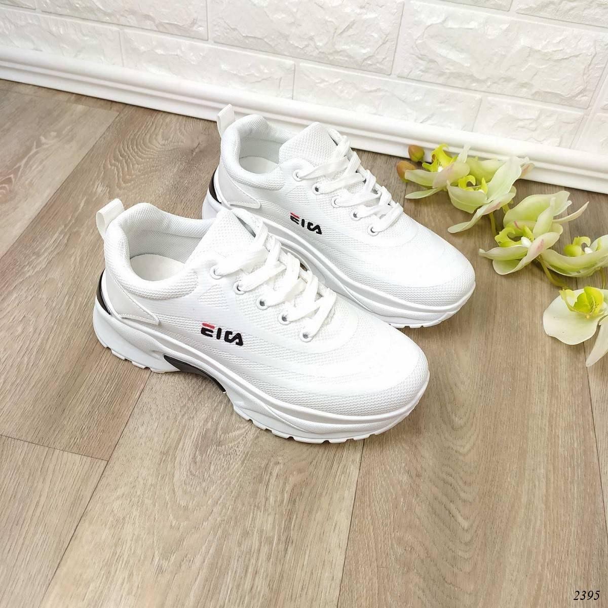 Женские кроссовки El белые