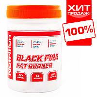 Мощный жиросжигатель для быстрого снижения веса BLACK FIRE 100 капсул.