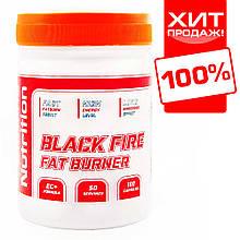 Потужний жіросжігателя для швидкого зниження ваги BLACK FIRE 100 капсул.
