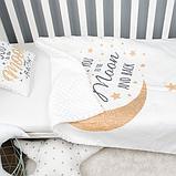 Детский плед для новорожденных и детей до 3 лет, конверт - одеяло плед на выписку 80*100см, фото 2