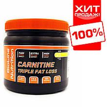 Л-карнітин для схуднення в порошку 500 г (100 порцій) Carnitine Bio Line Nutrition