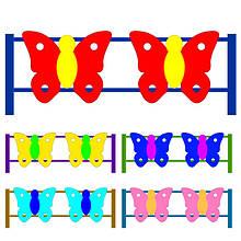 Паркан Метелики. Огородження для дитячих майданчиків. Колір на вибір.