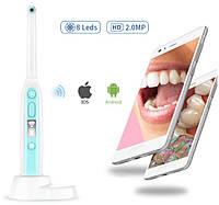 Камера стоматологическая Wi-Fi беспроводная интраоральная  i401 (8 светодиодов, 2 Мп, ОС iOS и Android, IP67), фото 1