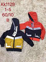 Куртка для мальчиков со светоотражающими элиментами оптом, S&D, 1-5 лет,  № KK-1128