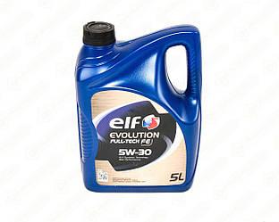Моторне масло ELF Evolution Full-Tech FE 5W30 (5 Liter)